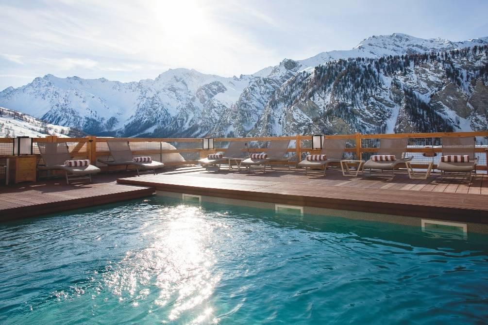 Alta peyra un spa au coeur de la montagne voyages for Piscine 2 alpes