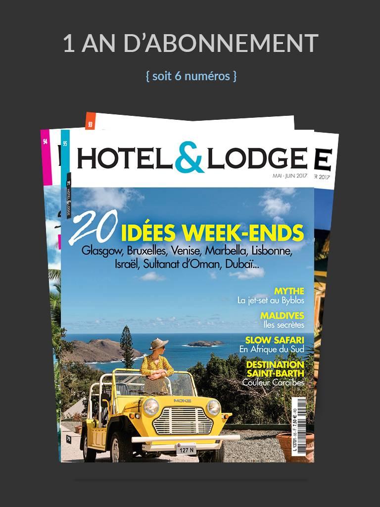 Hotel et Lodge  Abonnements 1an