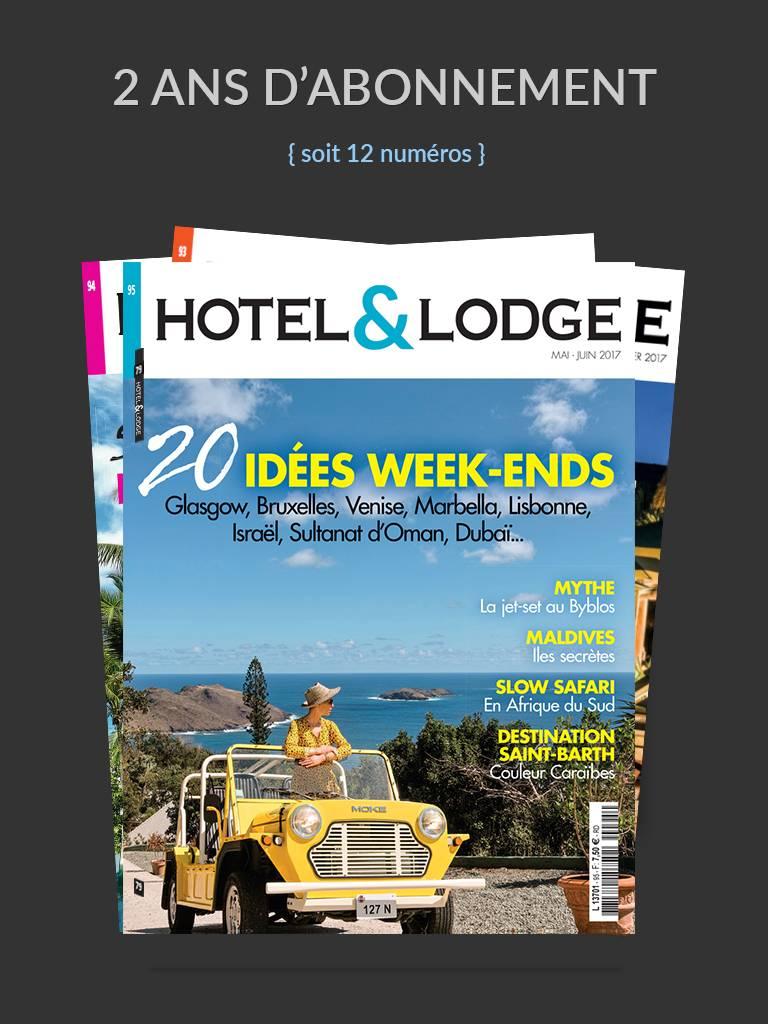 Hotel et Lodge  Abonnements 2 ans