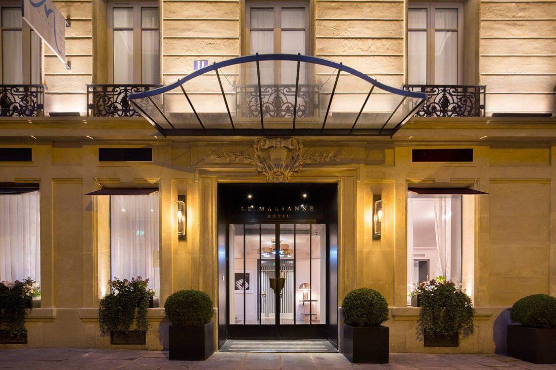 le marianne paris voyages hotels de luxe spas destinations de reve hotel lodge magazine. Black Bedroom Furniture Sets. Home Design Ideas