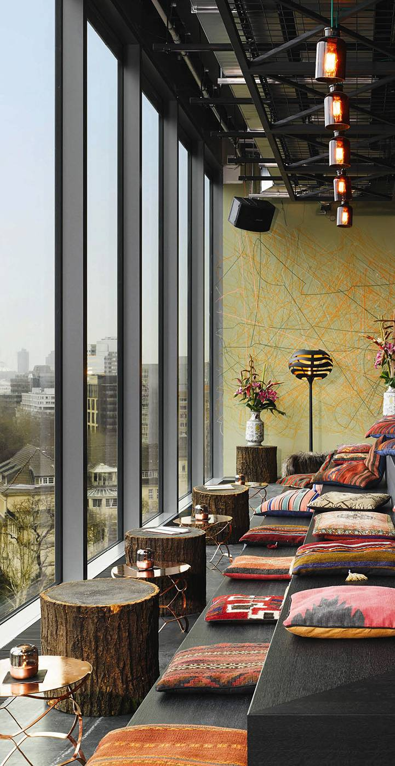 le 25 hours hotel bikini berlin voyages hotels de luxe spas destinations de reve hotel. Black Bedroom Furniture Sets. Home Design Ideas