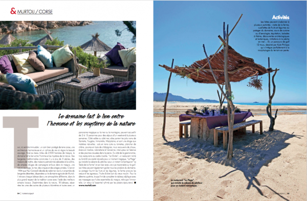 Hotel et Lodge Magazine 90 double page preview _05