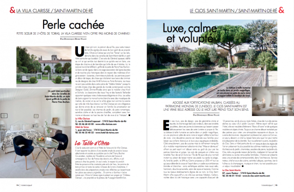 Hotel et Lodge Magazine 90 double page preview _09