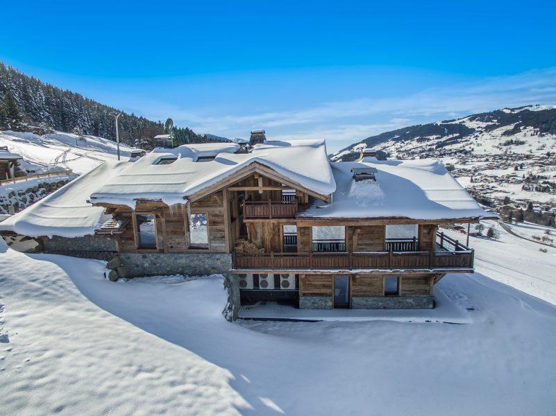 Chalet ararat la montagne version grand luxe voyages - Chalet de montagne luxe rkd architecte ...