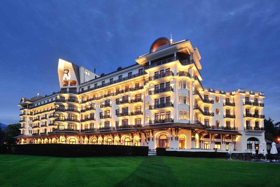 Le royal evian voyages hotels de luxe spas - Hotel royal evian les bains ...